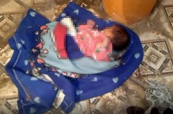 Newborn girl today news : मंदिर के पास मिली लावारिश नवजात बच्ची, अस्पताल में कराया भर्ती , देखें वीडियो