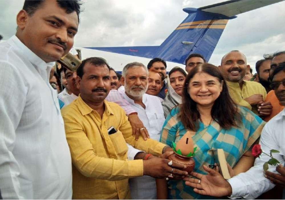 BJP MP Maneka Gandhi