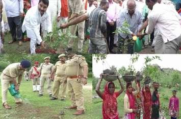 यूपी के इस जिले में 14 लाख 66 हजार पौध रोपण हुए, डीएम और एसपी सहित आला अधिकारियों ने किया शुभारम्भ