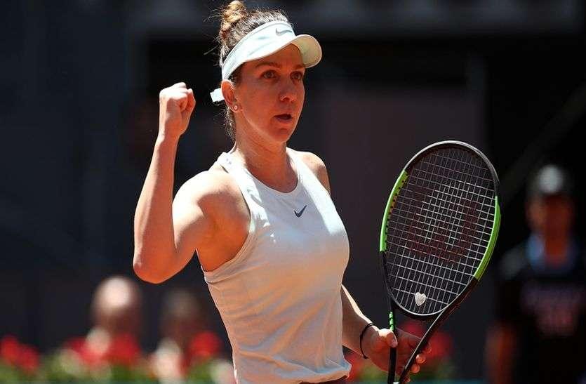 टेनिस : रोजर्स कप के क्वार्टर फाइनल में पहुंची सिमोना हालेप, स्वेतलाना कुजनेत्सोवा को दी मात
