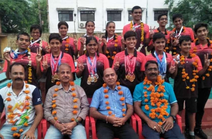 साई उदयपुर सेंटर ने 12 स्वर्ण सहित 51 पदक जीते
