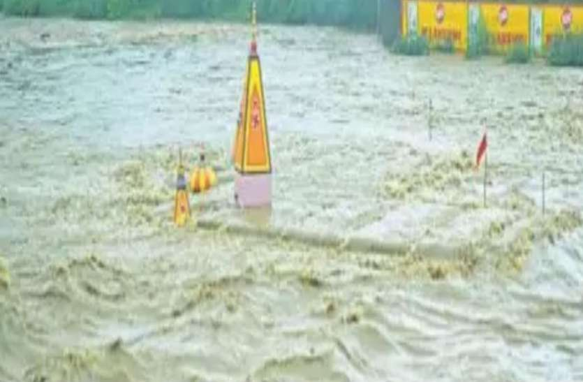 जब-जब डूबता है चामुंडा माता का मंदिर तब-तब होती है कोई अनहोनी, इस सीजन में दूसरी बार डूबा