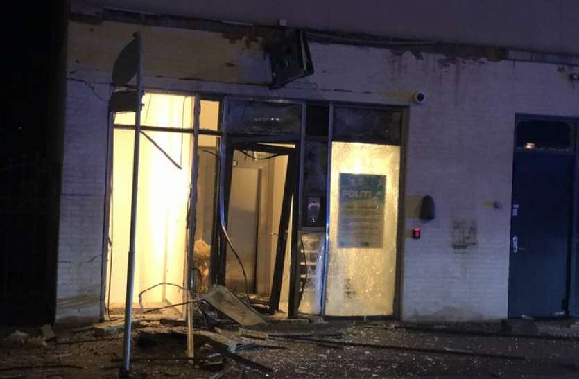 डेनमार्क: चार दिन के भीतर दूसरा बड़ा विस्फोट, अब पुलिस थाने के बाहर हुआ बम ब्लास्ट