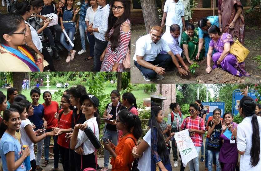 केएन महिला कॉलेज में छात्रसंघ चुनाव की दिखने लगी रंगत