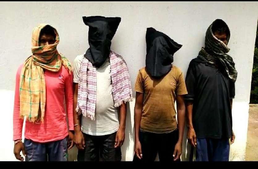 सर्चिंग टीम को देख छुप रहे थे कुछ लोग, पुलिस ने पकडक़र की पूछताछ, सामने आई चौकाने वाली सच्चाई