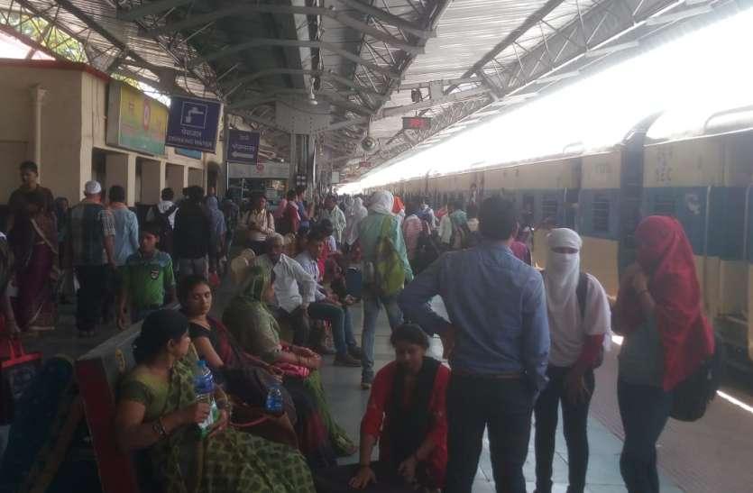 घर से भागे युवक-युवती को परिजनों ने अनूपपुर रेलवे स्टेशन पर पकड़ा