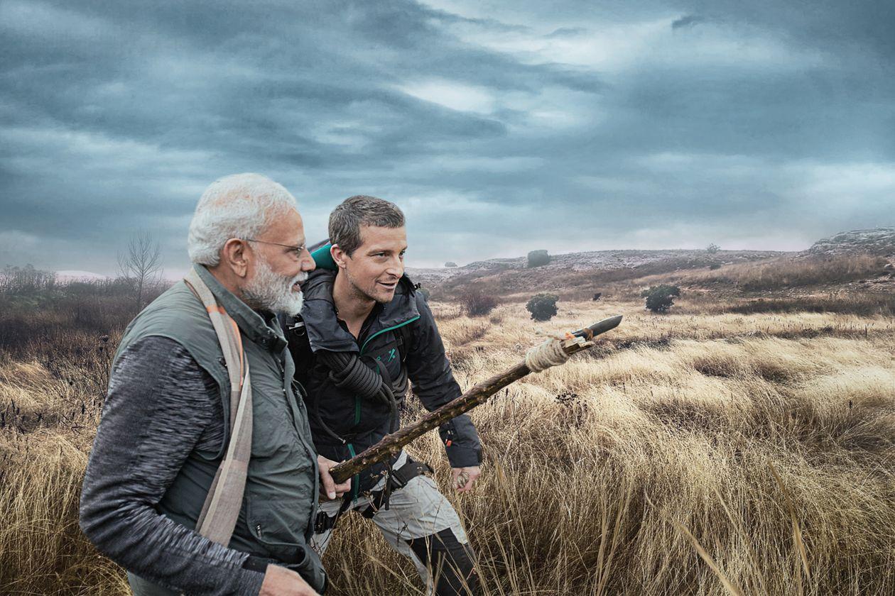 PM Modi In Man vs Wild : शो में भी हिन्दी बोले मोदी, प्रकृति संरक्षण के लिए प्रेरित भी किया