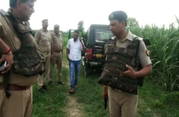 संभल: पुलिस कर्मी हत्या कांड का फरार आरोपी ढाई लाख का इनामी बदमाश शकील पुलिस मुठभेड़ में ढेर