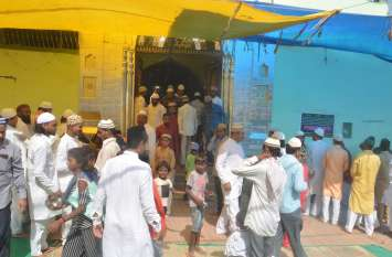 मस्जिदों में अदा की गई ईद-ए-अजहा की नमाज