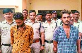 चोरी की 5 बाइकों के साथ शातिर बदमाश चढ़े पुलिस के हत्थे, सीसीटीवी फुटेज से पकड़े गए आरोपी