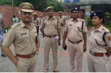 स्वतंत्रता दिवस पर दिल्ली में सुरक्षा के पुख्ता इंतजाम, आसमान से भी निगरानी