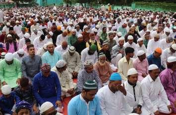 बांसवाड़ा में ईदुलजुहा पर शाही जुलूस निकला, विशेष नमाज अदा कर खुदा की राह में प्रिय वस्तु की कुर्बान
