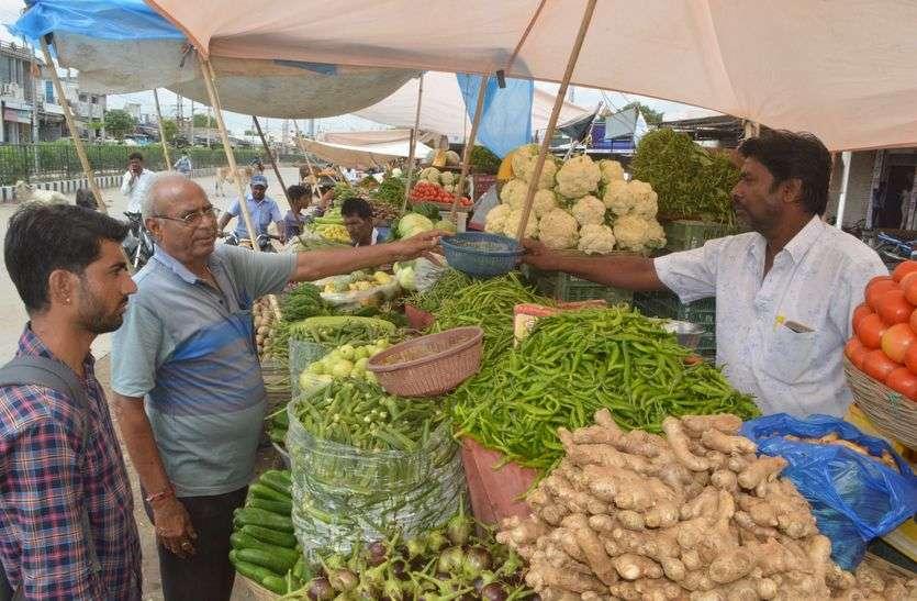 अच्छी आवक के कारण सस्ती हुई सब्जियां, फल भी गिरे
