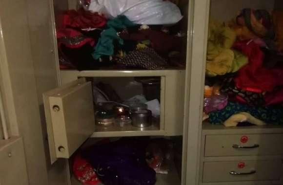 पंजाब में तैनात एयरफोर्स सिपाही के सूने मकान में चोरी