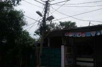 street lights  : स्ट्रीट लाइट पर हर माह खर्च हो  रहे है लाखों रुपए, फिर भी सड़कों पर रहता है अंधेरा