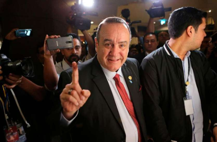 ग्वाटेमाला: राष्ट्रपति चुनाव में कंजर्वेटिव उम्मीदवार अलेजांद्रो गियामाटेई को मिली जीत