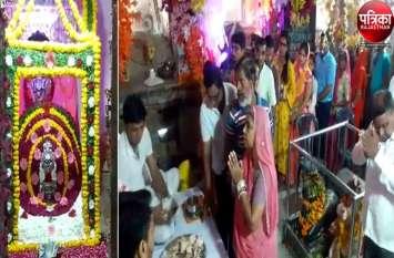 VIDEO : last monday of sawan : हर-हर महादेव से गूंजे शिवालय, लाखोटिया में आज बहेगी भक्ति की सरिता