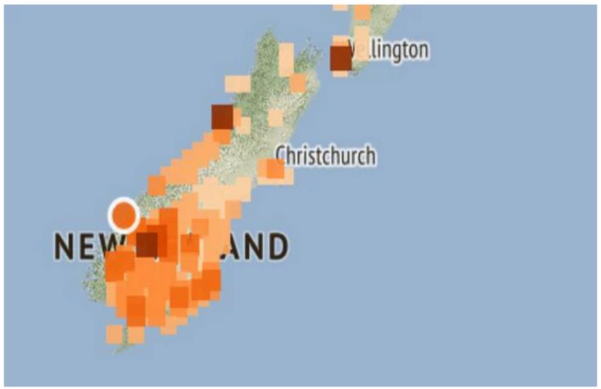 न्यूजीलैंड में भूकंप
