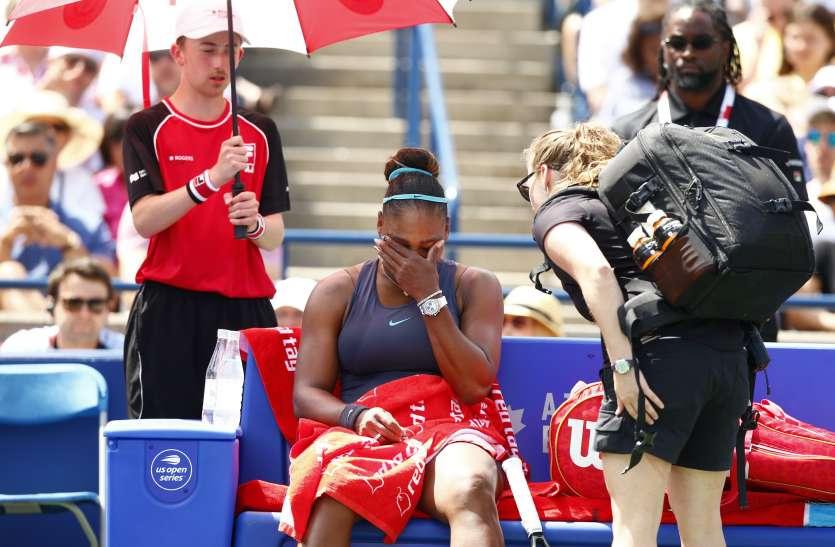 रोजर्स कप फाइनल: सेरेना विलियम्स चोट की वजह से बाहर, बियान्का एंड्रेस्कू ने जीता खिताब