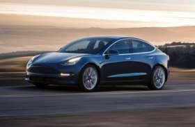 ट्रक से टक्कर के बाद Tesla मॉडल 3 इलेक्ट्रिक कार बनी आग का गोला