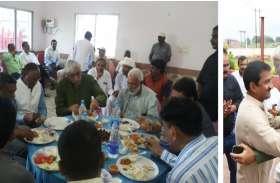 Video: स्वास्थ्य मंत्री टीएस ने बकरीद पर गले मिलकर दीं बधाइयां, महापौर-कुलपति के साथ उठाया स्वादिष्ट व्यंजनों का लुत्फ