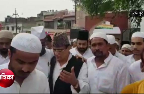 Video: Bakrid की नमाज के बाद आजम खान ने कह दी बड़ी बात
