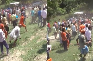 कावड़ियों के डीजे बंद कराने को लेकर बढ़ा विवाद, पुलिसवालों को जमकर पीटा, मौके पर पहुंची कई थानों की पुलिस