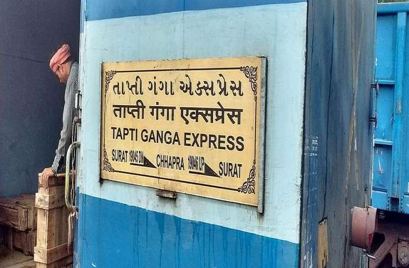 ताप्ती गंगा एक्सप्रेस में लुटेरों को पकडऩे के लिए बनी टीम में तालमेल की कमी