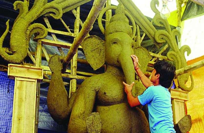 प्लास्टर ऑफ पेरिस की मूर्तियां प्रतिबंधित, पांडालों में भी सिर्फ माटी की मूर्ति होगी स्थापित