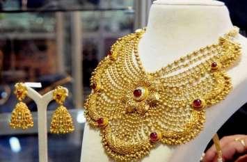 सोना हुआ 100 रुपए प्रति दस ग्राम हुआ सस्ता, चांदी 955 रुपए चमकी