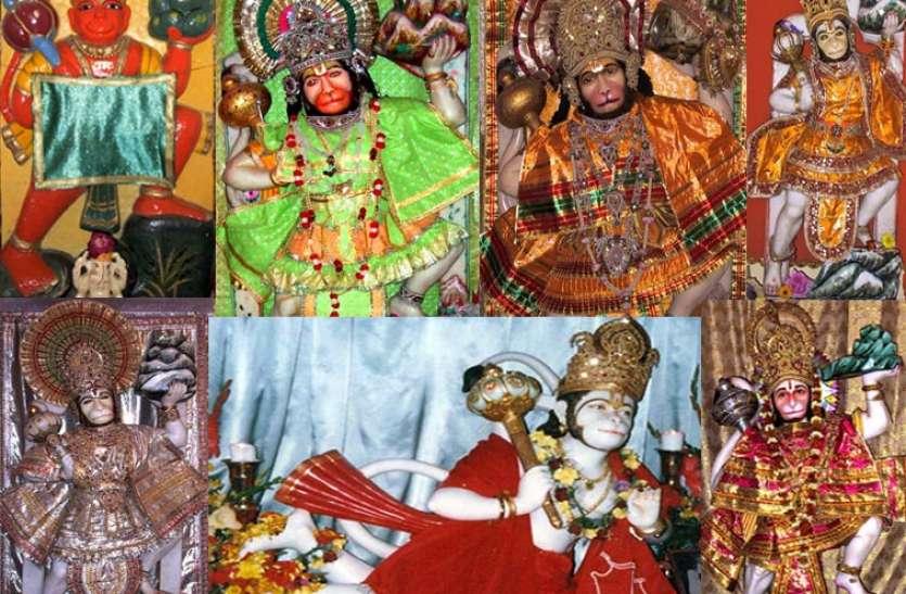 बजरंगबली के ये हैं 10 चमत्कारिक मंदिर, माथा टेकते ही बनते हैं सारे काम