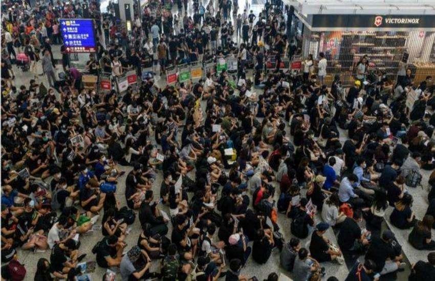 हांगकांग में प्रदर्शन