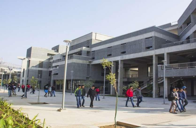 Students of Gujarat rise in IIT Gandhinagar आईआईटी गांधीनगर में बढ़ रहे हैं गुजरात के विद्यार्थी