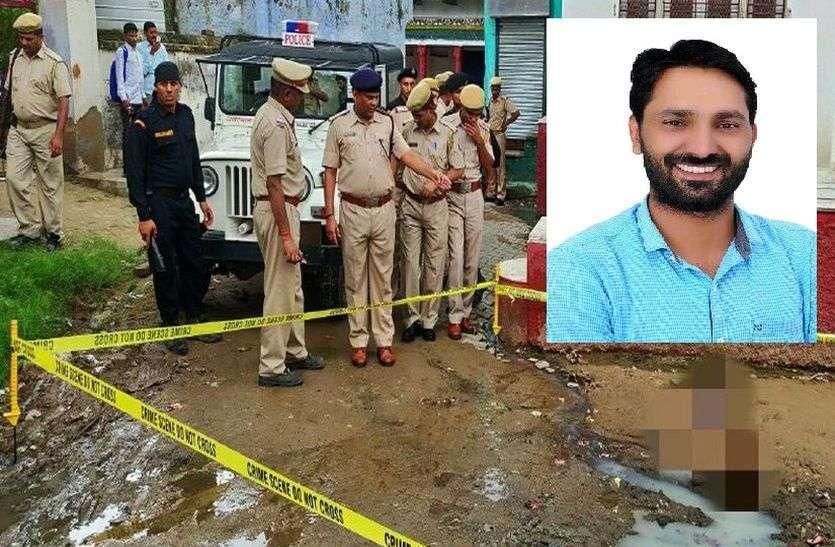 बसपा प्रत्याशी रहे जसवीर गुर्जर के गांव जैनपुरबास में एक व्यक्ति ने खुद को मारी गोली, शव देखकर मचा हडक़ंप