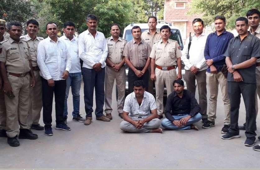 पुलिस की नजर से बच नहीं पाए तस्कर, डोडापोस्त पकड़ा, एसयूवी से 1.72 लाख रुपए भी बरामद
