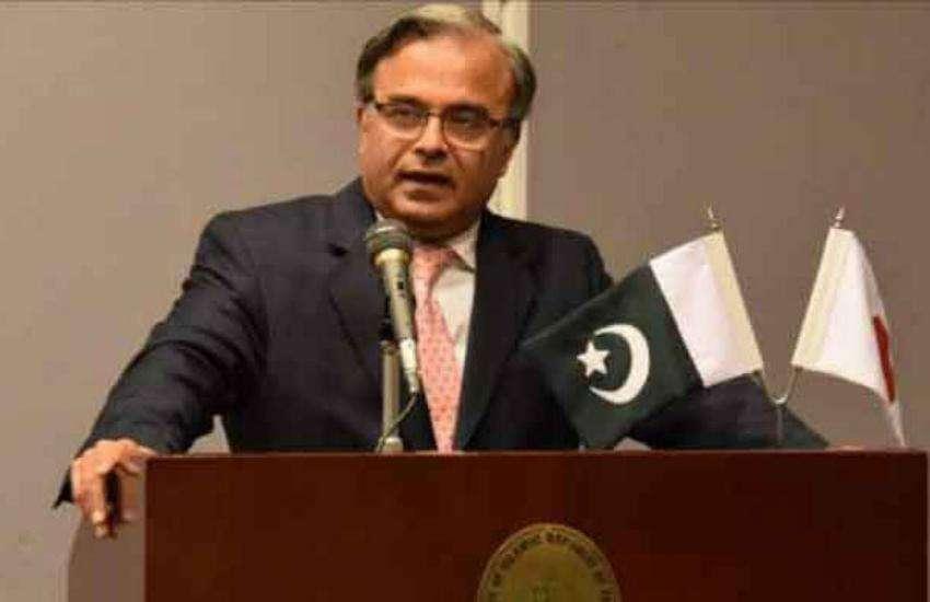 अमरीका में पाकिस्तान के राजदूत असद मजीद खान