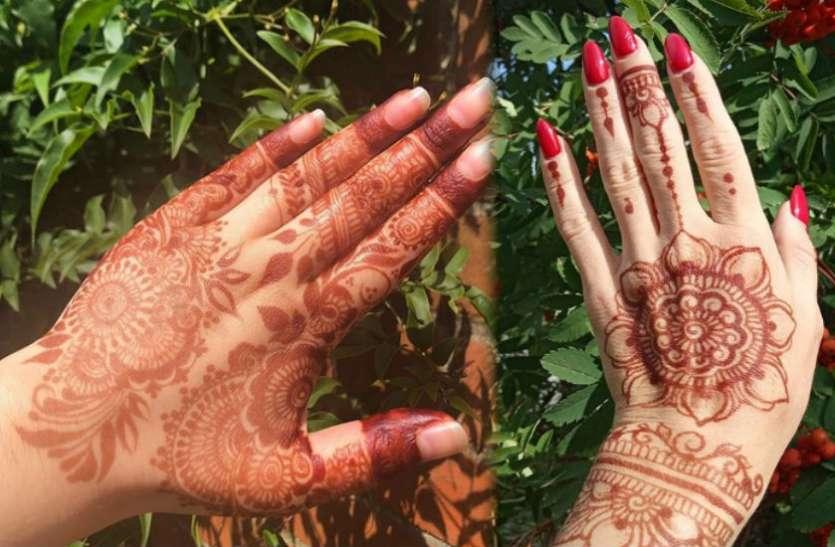 Raksha Bandhan पर अपने हाथों में बनाएं खूबसूरत मेहंदी डिजाइन, देखें तस्वीरें