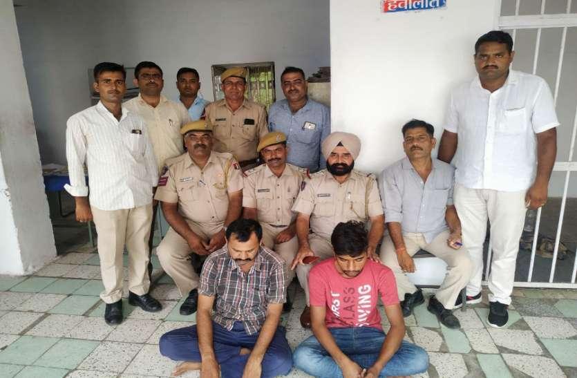 जोधपुर में आधा दर्जन बाइक चुराने वाले गिरोह को पकड़ा, इन मामलों में भी हुई कड़ी कार्रवाई