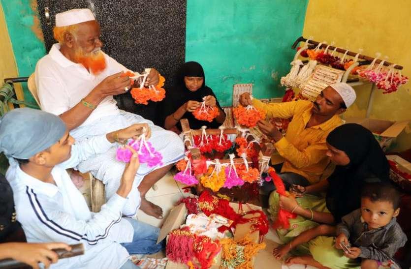 अहमदाबाद :मुस्लिम परिवार पांच दशकों से बना रहे राखी