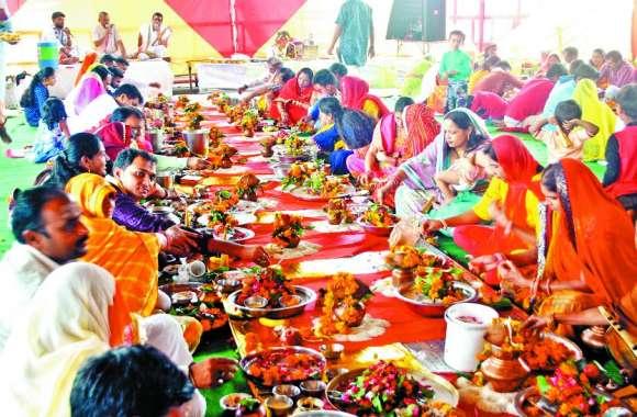 सीहोर के प्रसिद्ध श्री गणेश मंदिर में हुआ रुद्राभिषेक