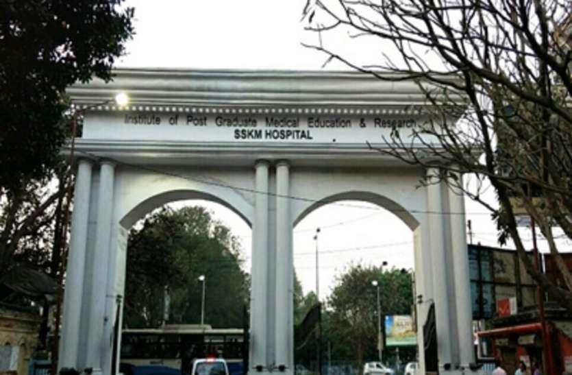 एसएसकेएम में मरीज की मौत के बाद डॉक्टर पर हमला
