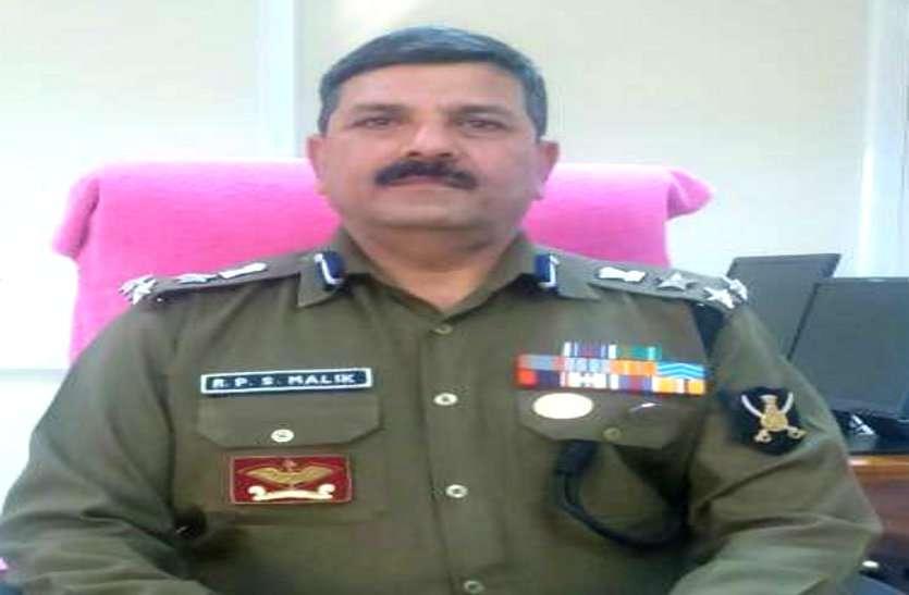 रावघाट में नक्सलियों को खदेडऩे वाले BSF डीआईजी मलिक को राष्ट्रपति पुलिस पदक