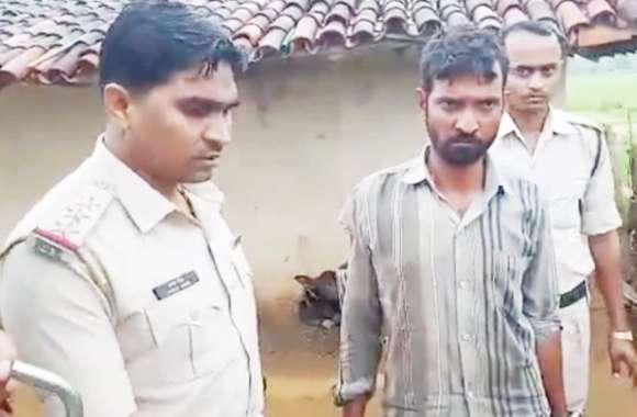 दिनदहाड़े युवक की हत्या कर फरार आरोपी चढ़ा पुलिस के हत्थे, घने जंगल में था छिपा