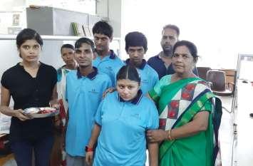 Raksha bandhan : शुभदा स्कूल के विशेष बच्चों ने यूं मनाया रक्षाबंधन पर्व