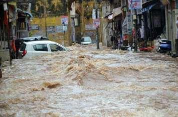 छह घंटे की झमाझम बारिश से शहर हुआ पानी-पानी