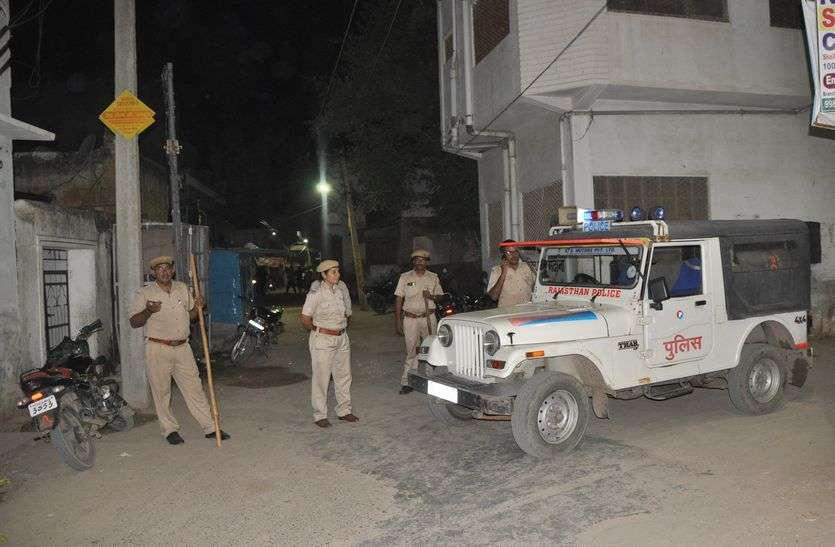 जयपुर के बाद सीकर में चुनावी रंजिश को लेकर दो गुटों में विवाद, भारी पुलिस जाब्ता तैनात