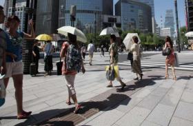 जापान में चिलचिलाती गर्मी से 23 की मौत, 12 हजार लोग अस्पताल में भर्ती