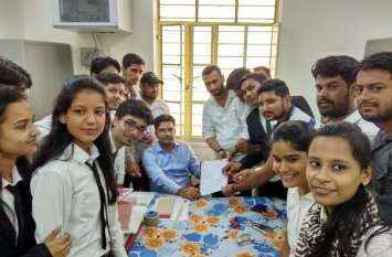 बीआर मिर्धा कॉलेज में नकल रोकने के लिए बंद कर दी कैंटीन