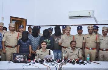 हॉलीवुड स्टाइल में एक साथ 4800 मोबाइल चोरी... बॉलीवुड अंदाज में बरामद