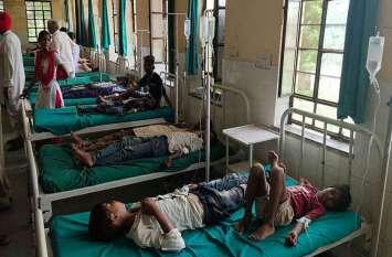 स्कूल में कढ़ी-चावल खाने से 100बच्चे बीमार, 46 को कराया भर्ती, एचएम व पोषाहार प्रभारी निलंबित
